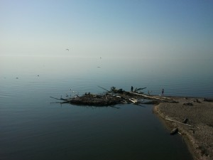 Lake Ontario in all of its springtime glory