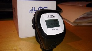 The TRiLOC GPS Watch