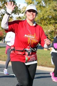 running a half-marathon